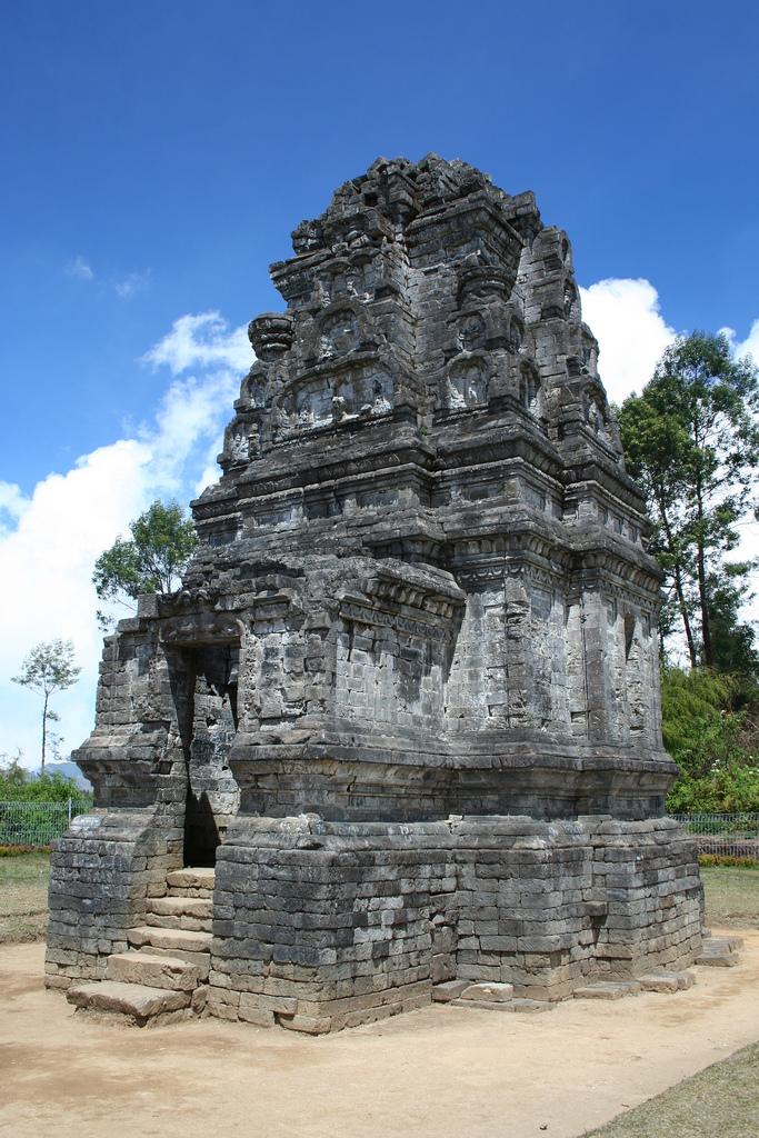 Candi Bima Indonesia Dieng Plateau Temple Photo View Kab Banjarnegara