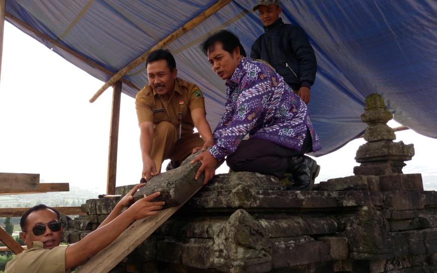 Candi Puntadewa Dieng Dipugar Pesona Wisata Kabupaten Banjarnegara Bima Kab