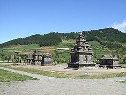 Dieng Plateau Wikipedia Temple Complex Candi Bima Kab Banjarnegara