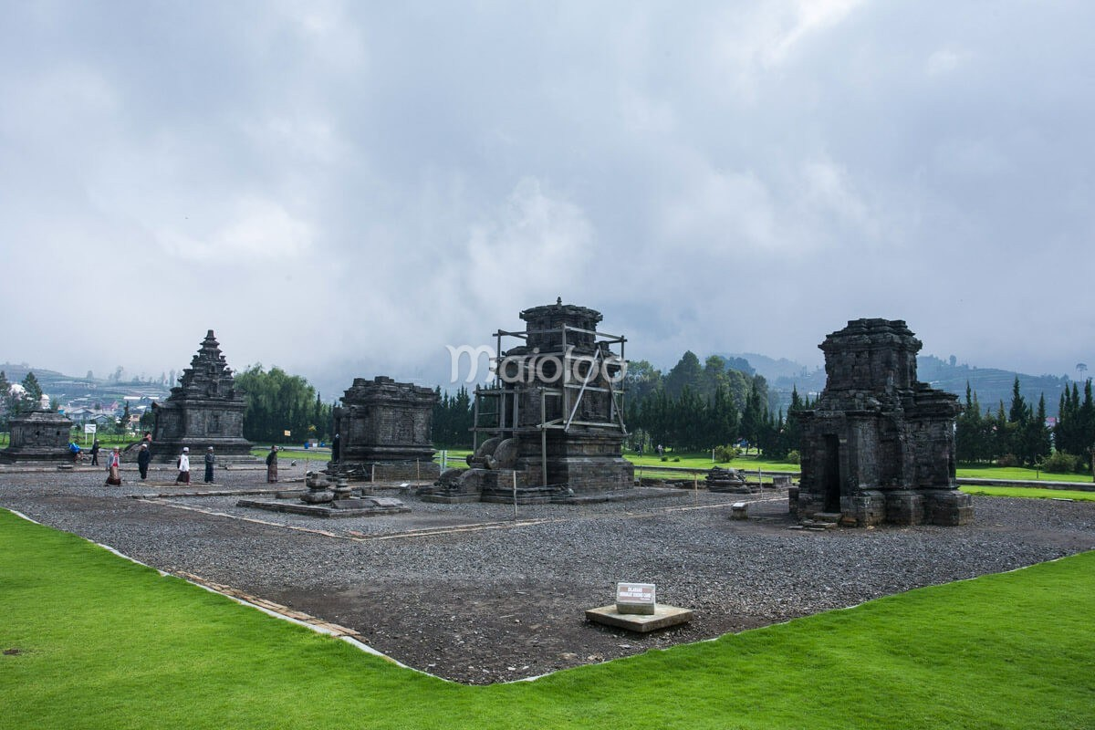 Candi Arjuna Pesona Mahakarya Mataram Kuno Dieng Dwarawati Kab Banjarnegara