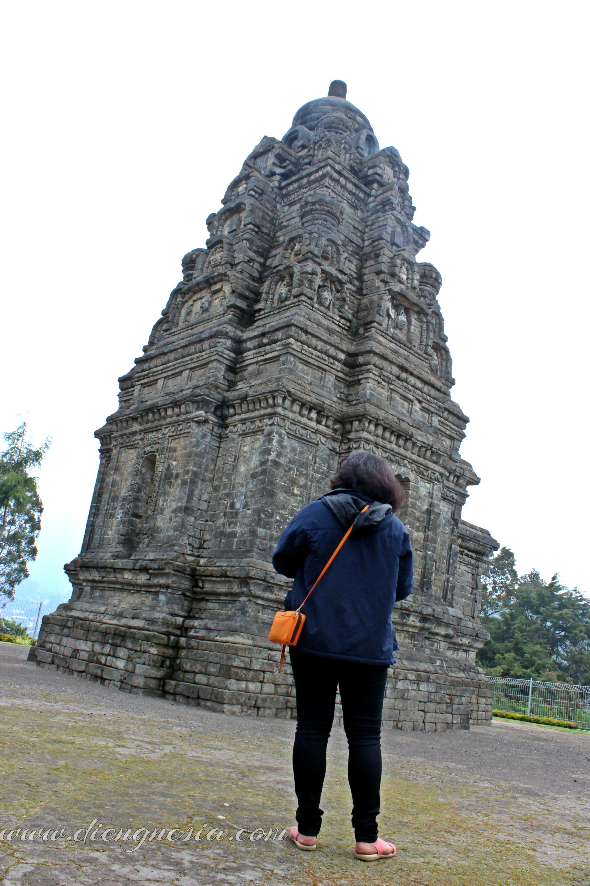 Candi Bima Dieng Saksi Sejarah Wangsa Sanjaya Diengnesia Dwarawati Kab