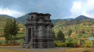 Candi Dwarawati Desa Dieng Kulon Kecamatan Batur Kabupaten Banjarnegara Jawa