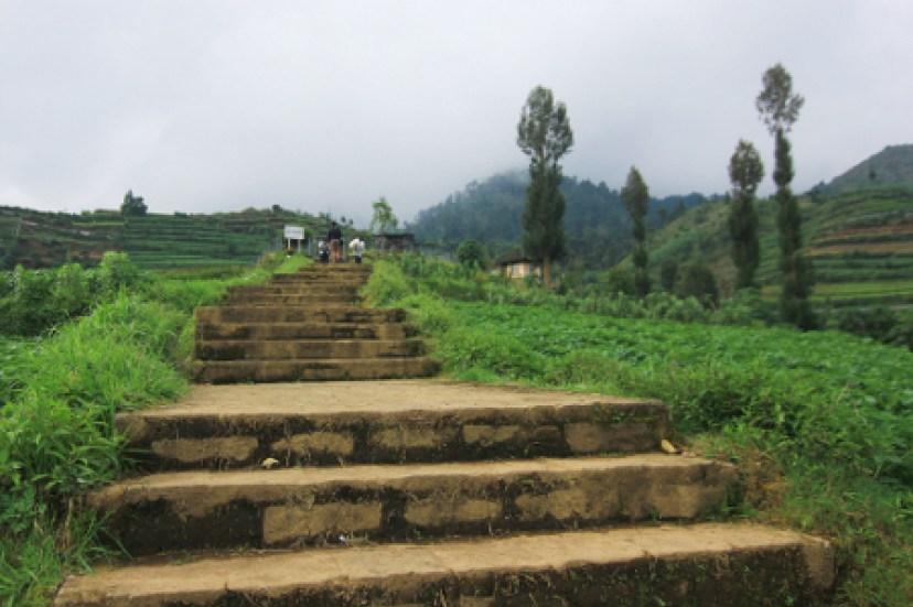 Candi Dwarawati Dieng Keidahan Hamparan Kentang Duta Wisata Kab Banjarnegara