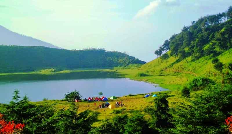 Tempat Wisata Kabupaten Banjarnegara Terbaru 2018 Terindah Telaga Dringo Tersembunyi