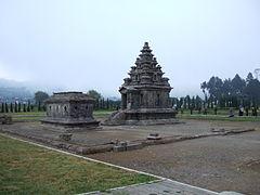 Candi Arjuna Wikiwand Kesatuan Semar Gatotkaca Dieng Kab Banjarnegara