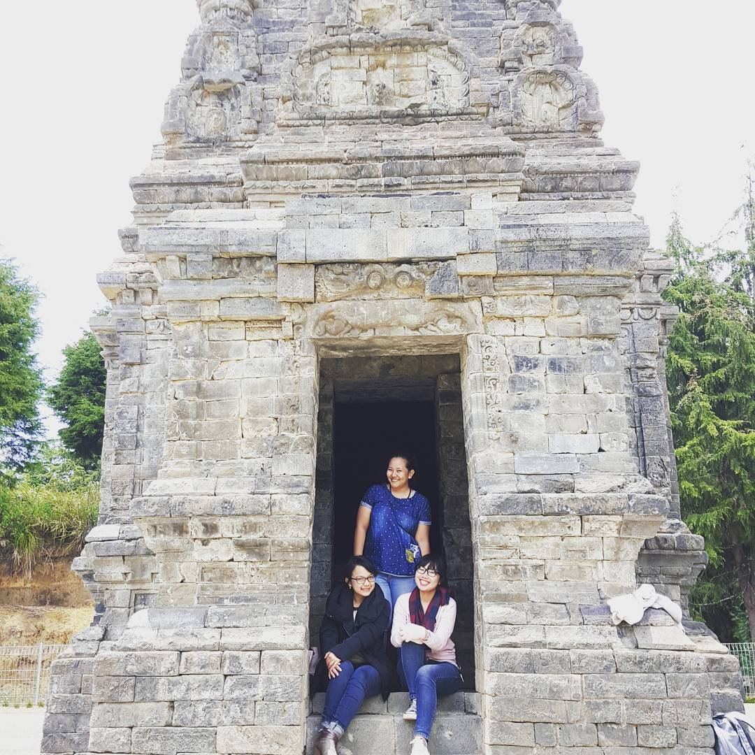Candi Bima Oleh Milka Dian Christa Gatotkaca Dieng Kab Banjarnegara