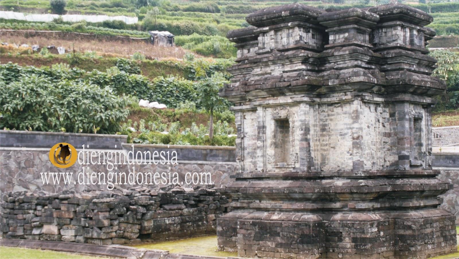 Candi Gatotkaca Dieng Wisata Sejarah Dataran Tinggi Terletak Provisi Jawa