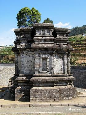 Heritage General Description Candi Gatotkaca Dieng Kab Banjarnegara