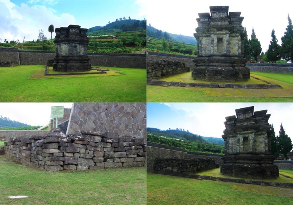 Kompleks Candi Gatotkaca Dieng Banjarnegara Jawa Tengah Wisata Nakula Sadewa