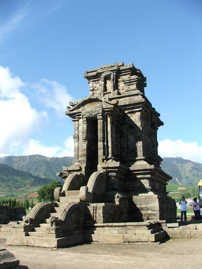 Sejarah Candi Dieng Wonosobo Jawa Tengah Gagasan Sederhana Gambar Gatotkaca
