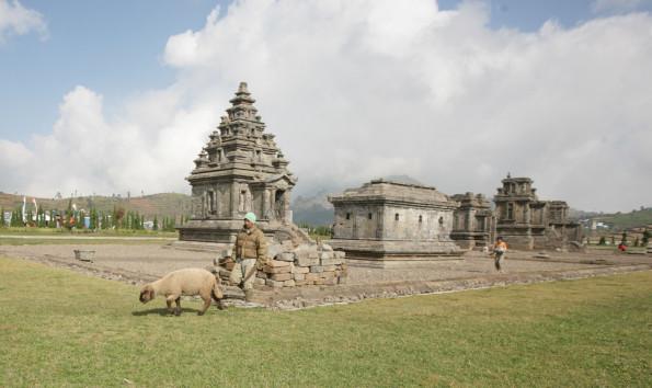 Bermain Kabut Kompleks Candi Arjuna Pesona Indonesia Komplek Percandian Kab