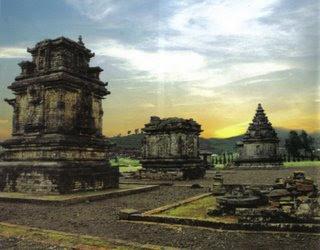 Komplek Candi Arjuna Dieng Banjarnegara Percandian Kab