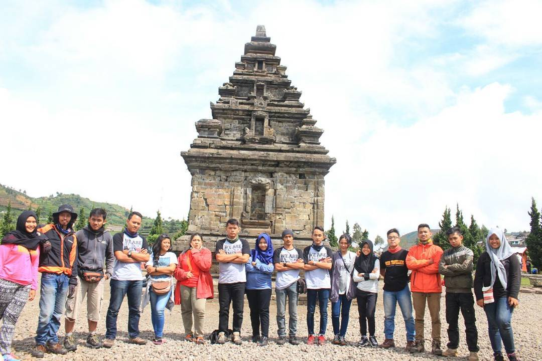 Komplek Candi Arjuna Photo Arifin Aziz Percandian Kab Banjarnegara