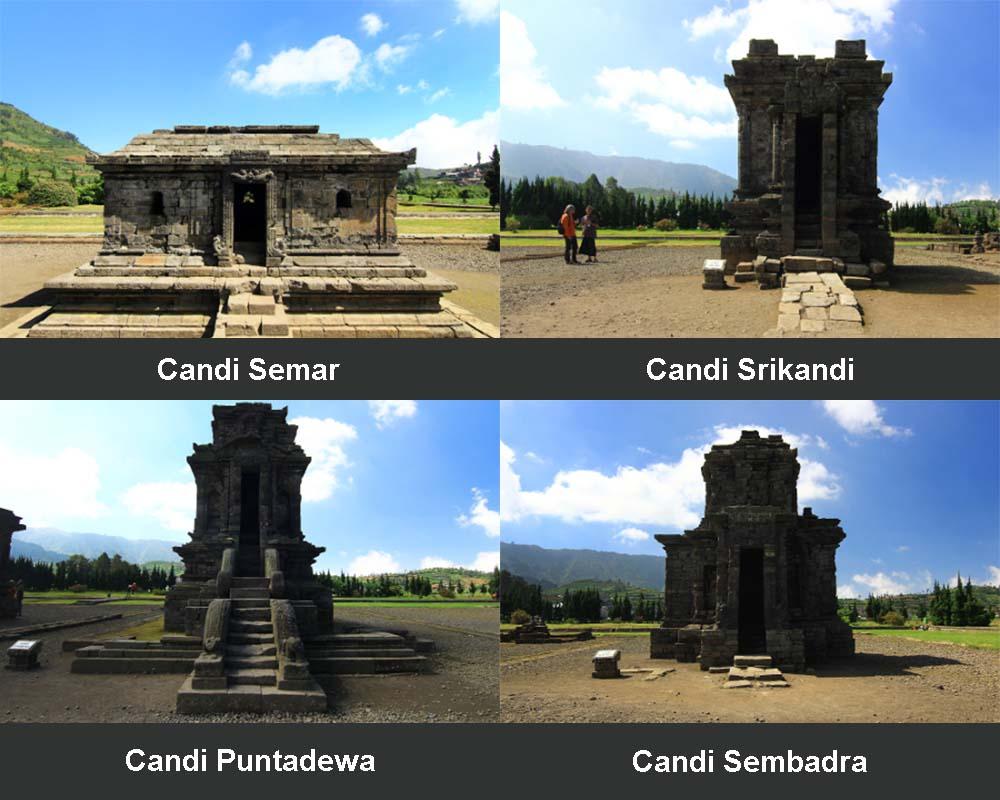 Kompleks Candi Arjuna Dieng Banjarnegara Jawa Tengah Kamera Budaya Terdapat