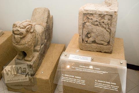 Maw Mblusuk Museum Dieng Kailasa Foto Koleksi Arca Gajah Banjarnegara