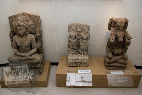 Maw Mblusuk Museum Dieng Kailasa Foto Koleksi Arca Siwa Banjarnegara