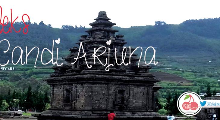 Wisata Unggulan Dieng Banjarnegara Langkah Baruku Kompleks Candi Arjuna Museum