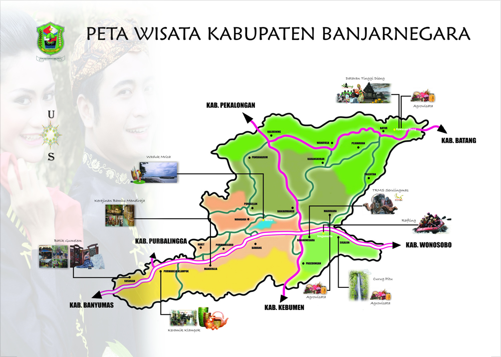 Curug Genting Banjarnegara Surya Yudha Park Kab