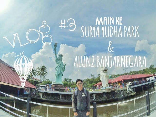 Kolam Ombak Tsunami Surya Yudha Park Banjarnegara Travelerbase Vlog 3
