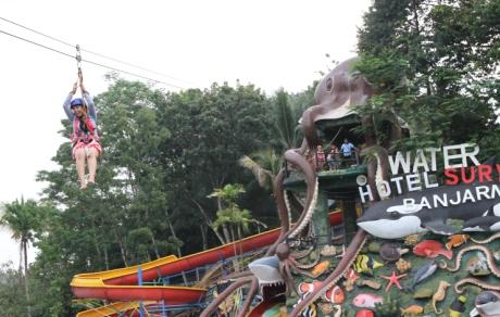 Surya Yudha Park Banjarnegara Hotel Waterpark Kab