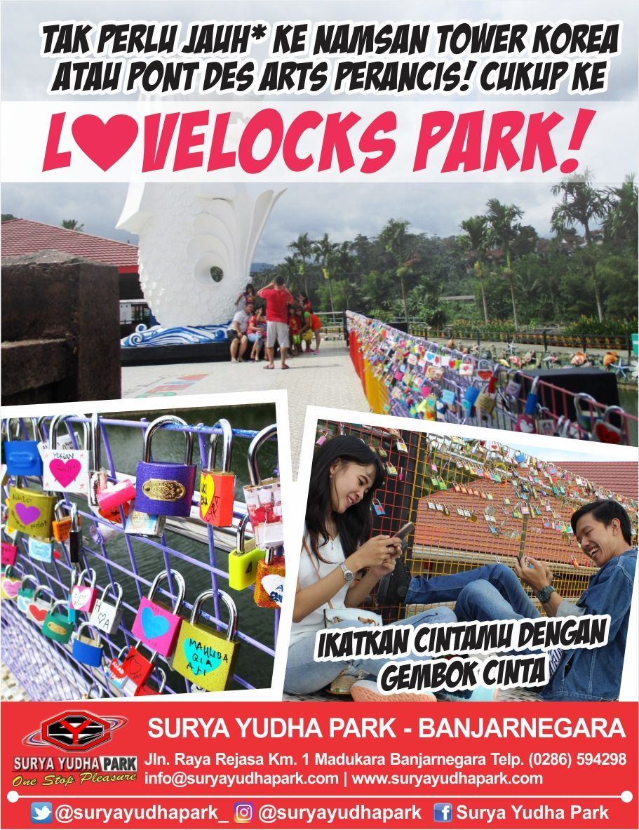 Surya Yudha Park Suryayudhapark Twitter Sematkan Gembok Cinta Lovelocks Dapatkan