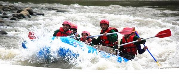 Surya Yudha Park Wisata Keluarga Adem Banjarnegara Rafting Kab