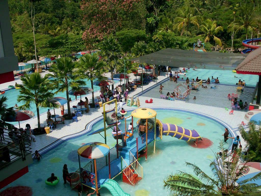 Surya Yudha Water Park Wisatajateng Kab Banjarnegara