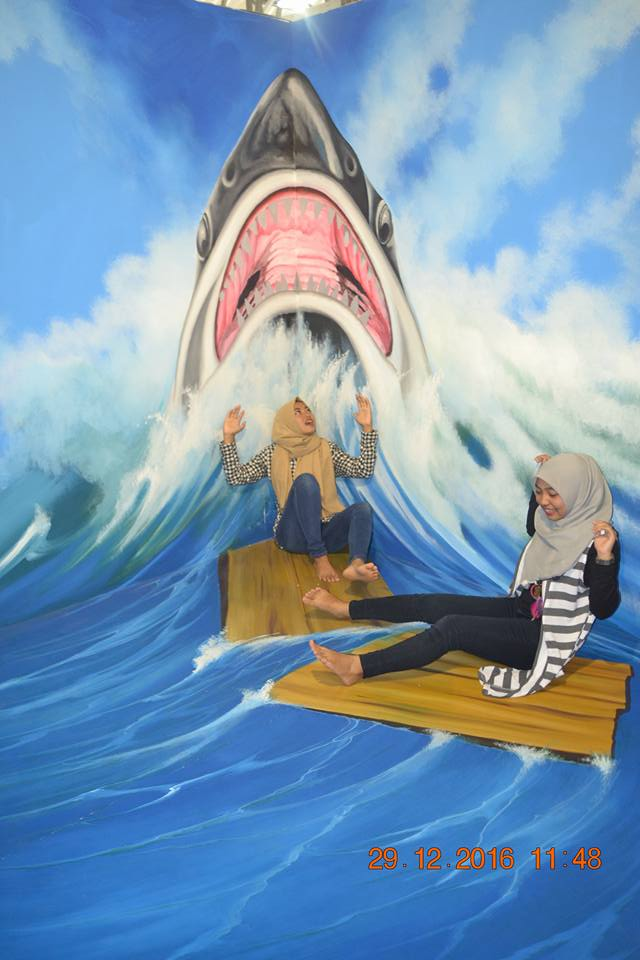Wahana 3d Trick Art Surya Yudha 96detik Blogspot Kehadiran Warga