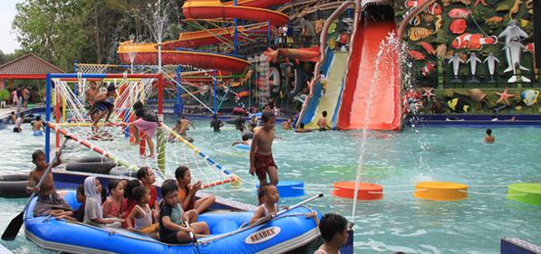 Waterpark Surya Yudha Park Banjarnegara Jawa Tengah Kacamatawisata Tiket Masuk
