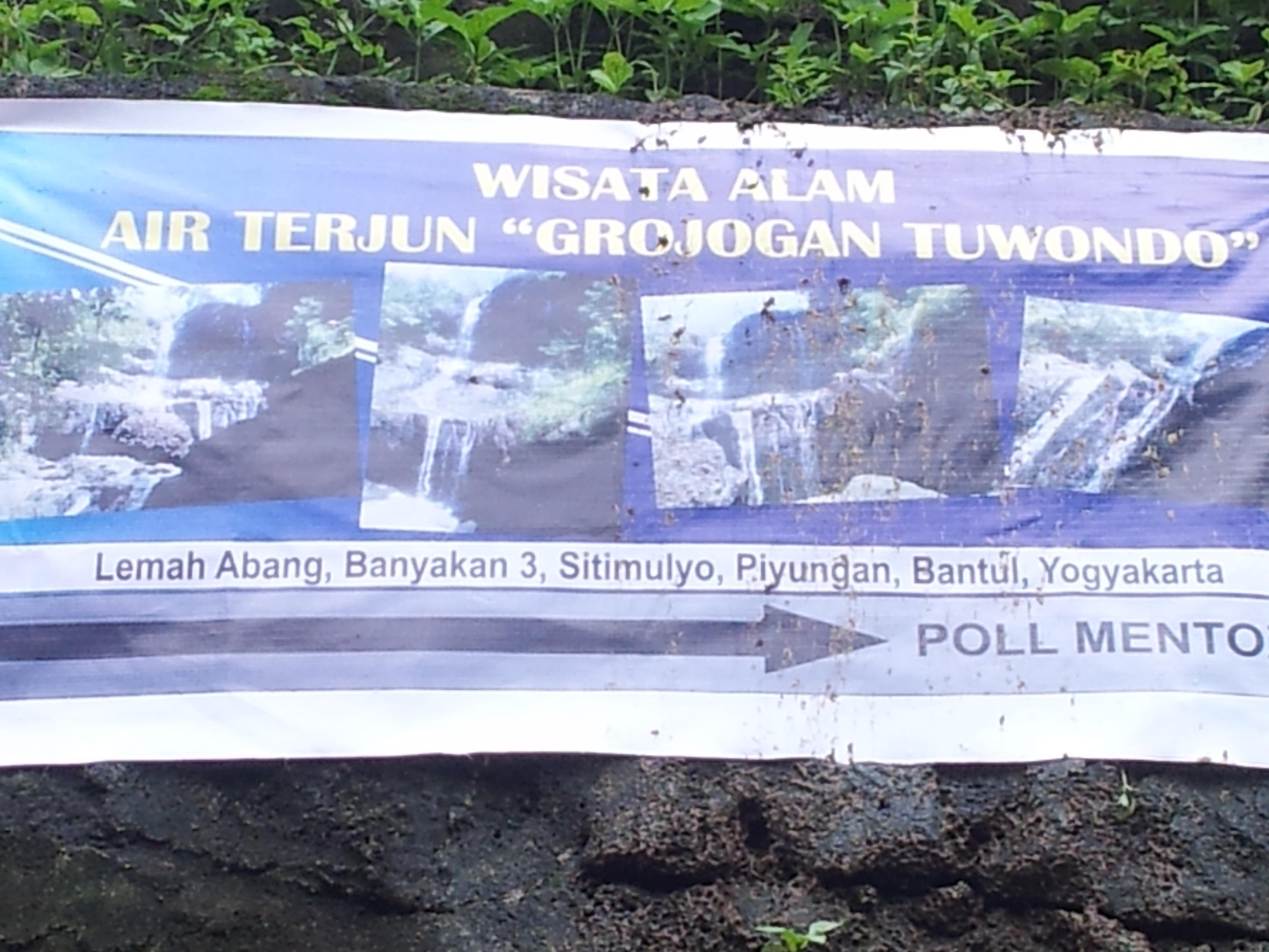 Pesona Airterjun Grojogan Tuwondo Jogja Picnic Gambar Atas Titik Mulai
