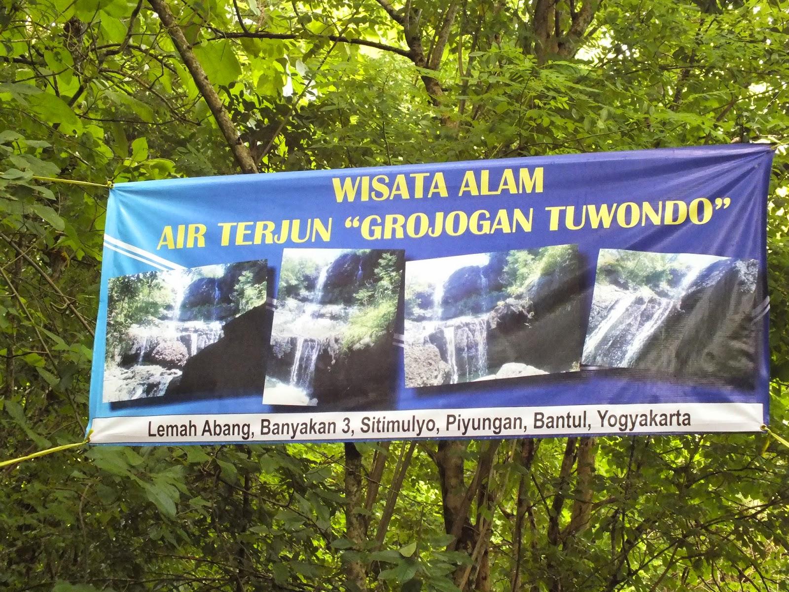 Tour Traveller Fun Water Fall Air Terjun Dinamakan Tuwondo Karna