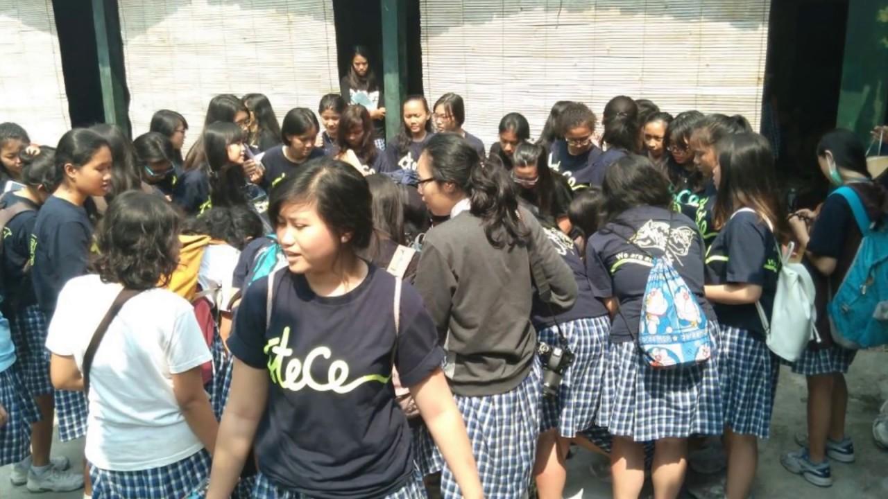 Batik Kayu Sma Stelladuce Jogja Desa Wisata Krebet 2016 2017