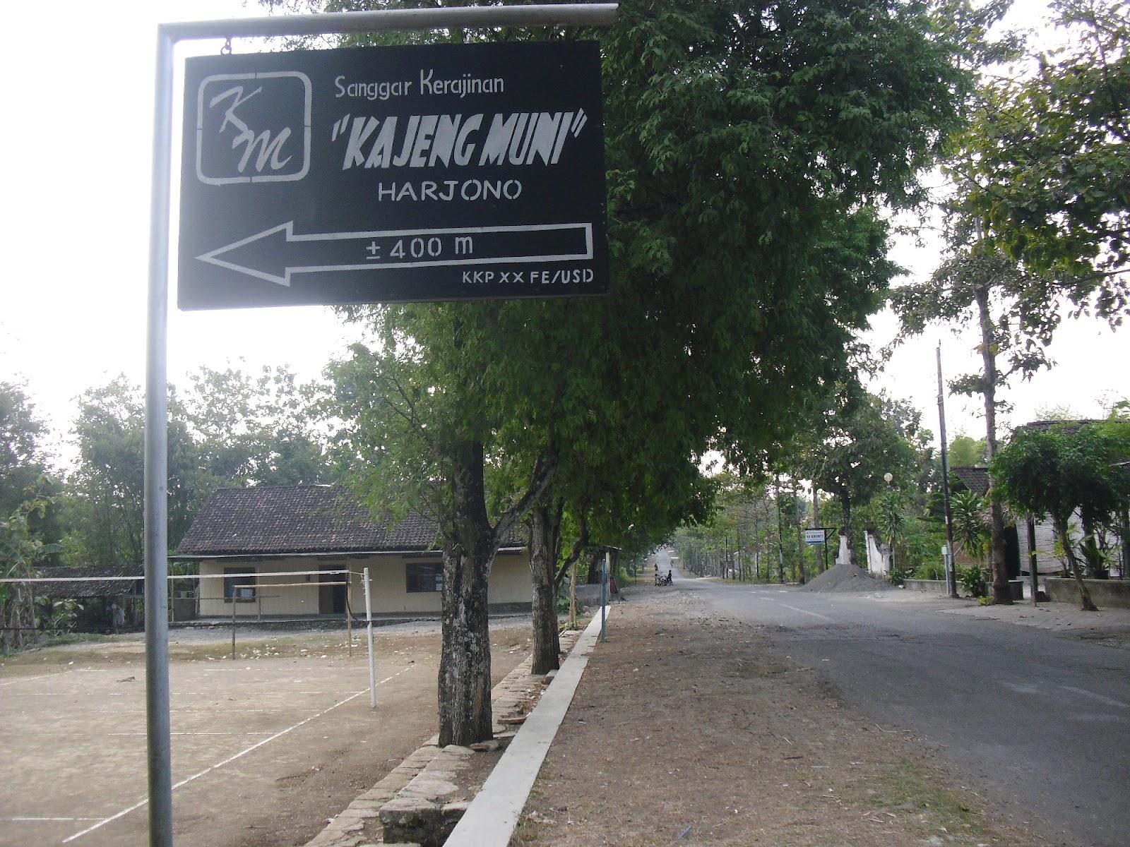 Desa Wisata Kerajinan Batik Kayu Krebet Sanggar Kajeng Muni Kita
