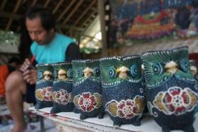 Krebet Pusatnya Kerajinan Batik Kayu Tribun Jogja Desa Wisata Kab