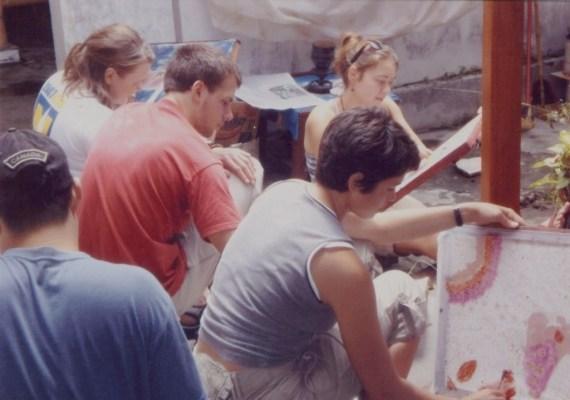 Membatik Kayu Desa Wisata Krebet Berdesa Batik Kab Bantul