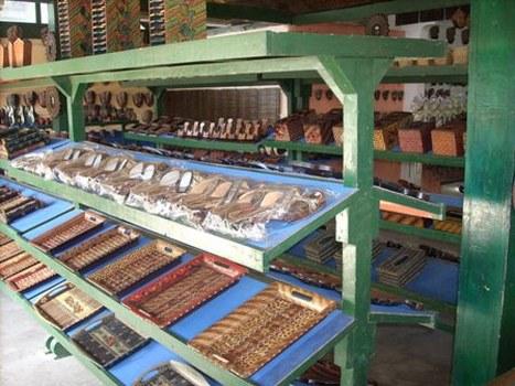 Mengintip Kerajinan Kayu Batik Desa Wisata Krebet Pleret Yogyakarta Kab