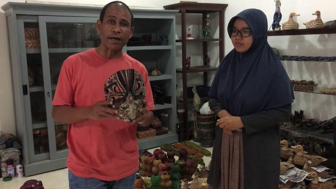 Peluang Usaha Desa Kerajinan Batik Kayu Wisata Krebet Bantul Kab