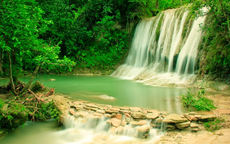 Air Terjun Jurug Pulosari Pajangan Bantul Yogyakarta Wisata Jogja Lokasi