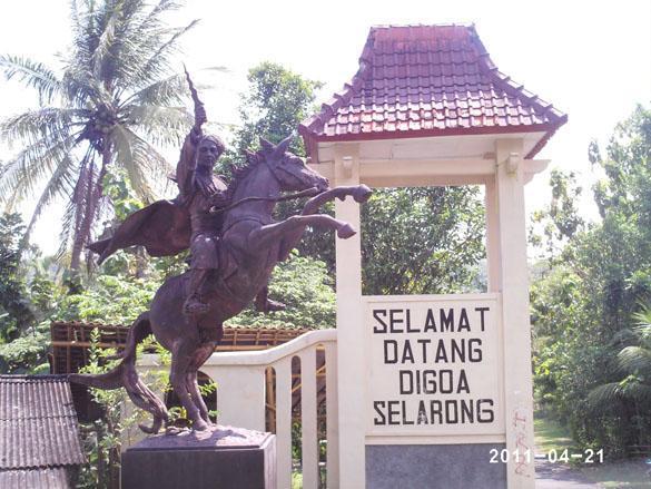 Goa Selarong Tempat Wisata Sejarah Pangeran Diponegoro Membuat Taktik Perang