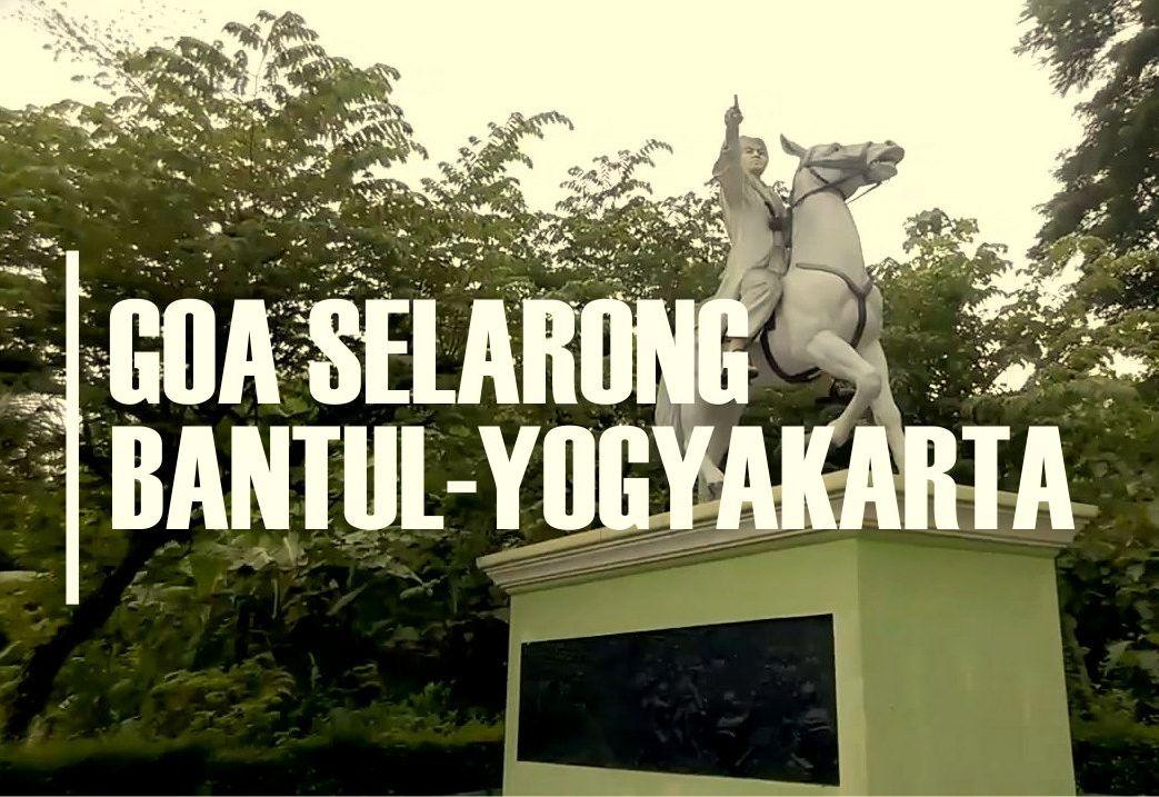 Learn History Goa Selarong Bantul Yogyakarta Setapak Pesona Bagi Kalian