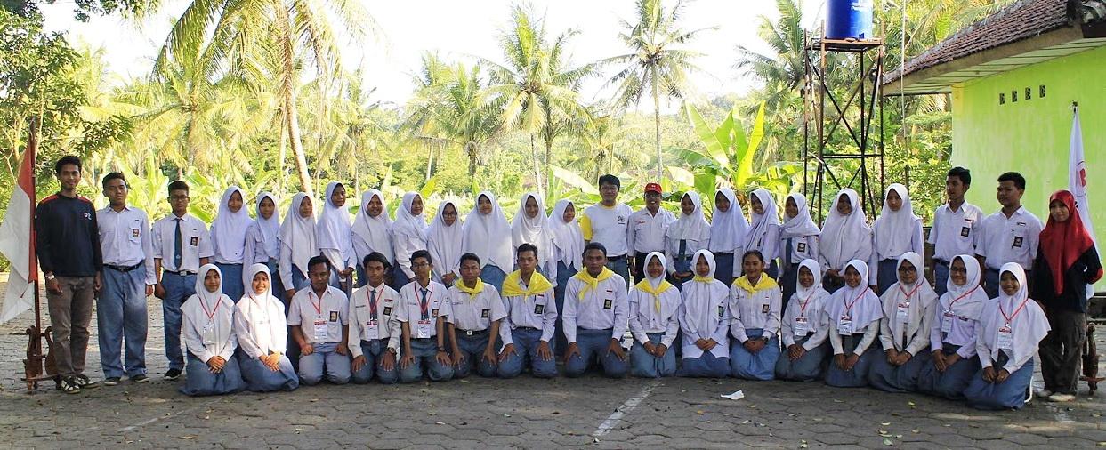 Pelantikan Pmr Unit Pmi Kab Bantul Goa Selarong Tribrata Img