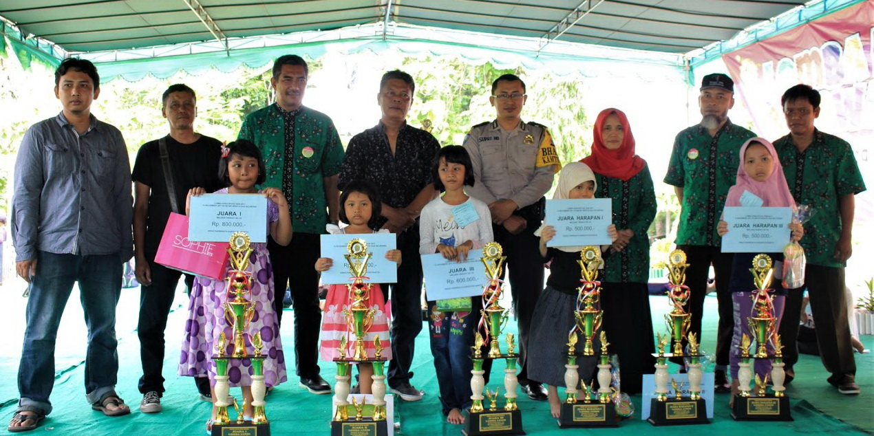 Pengamanan Lomba Melukis Mewarnai Obyek Wisata Goa Selarong Bantul Dusun