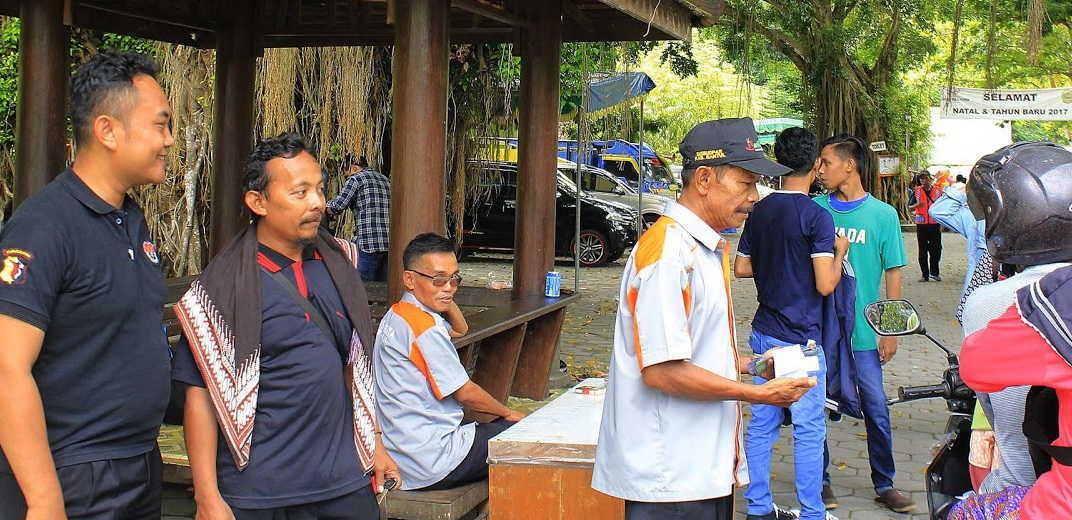 Pentas Jathilan Goa Selarong Tribrata News Bantul Berlangsung Obyek Wisata
