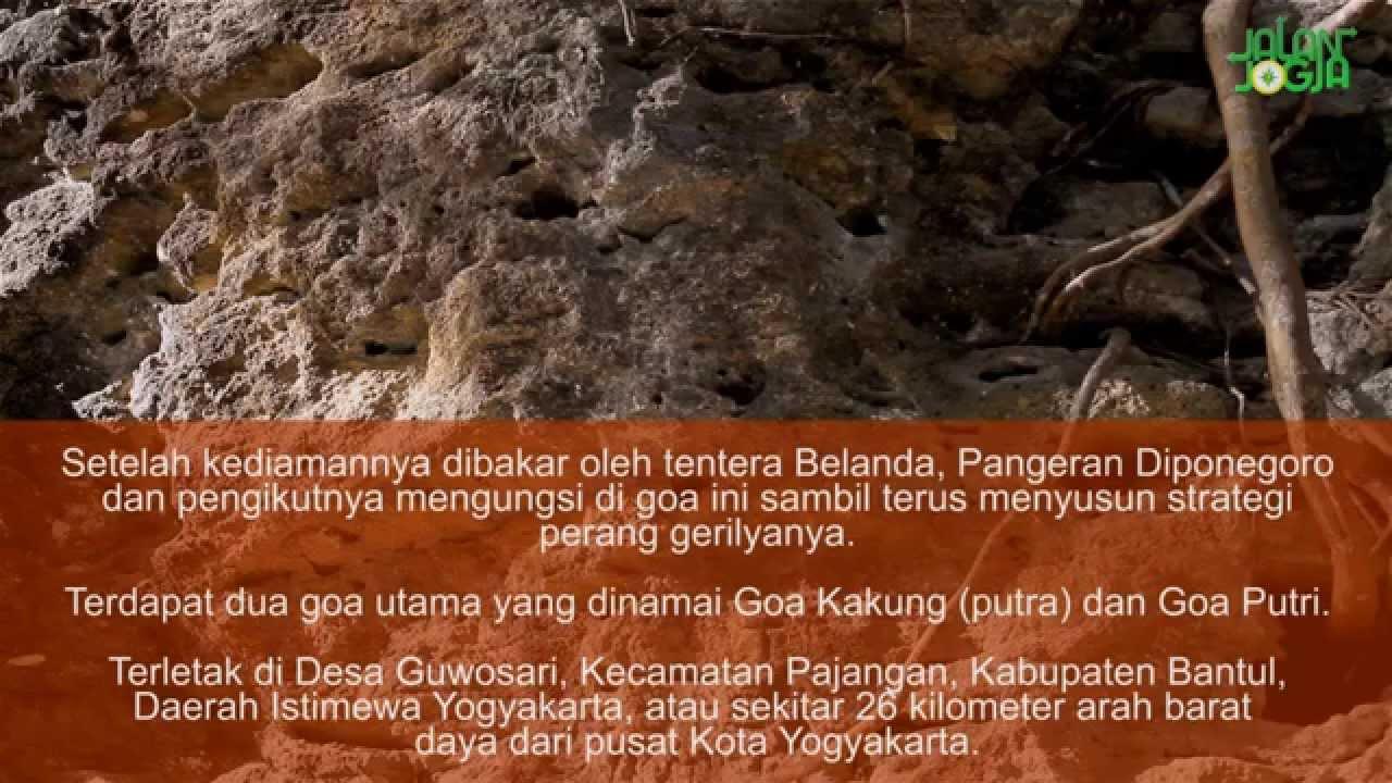 Wisata Sejarah Gua Selarong Bantul Yogyakarta Youtube Goa Kab