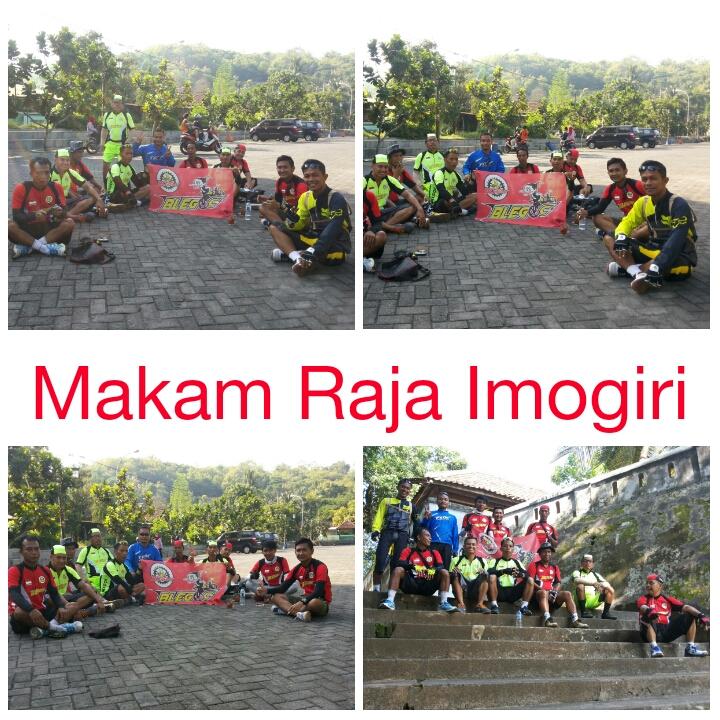 Blegoc Blendangan Gowes Club Makam Raja Mataram Imogiri Kabupaten Bantul