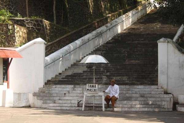 Makam Imogiri Yogyakarta Yogya Gudegnet Memasuki Areal Pengunjung Memberi Sumbangan