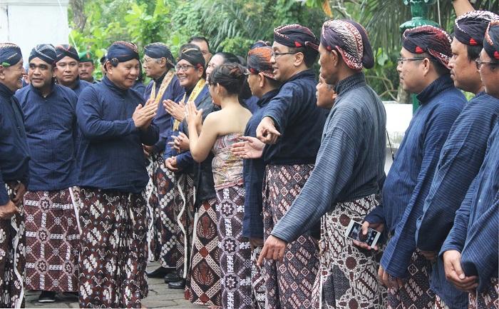 Prabowo Ziarah Makam Raja Imogiri Kab Bantul