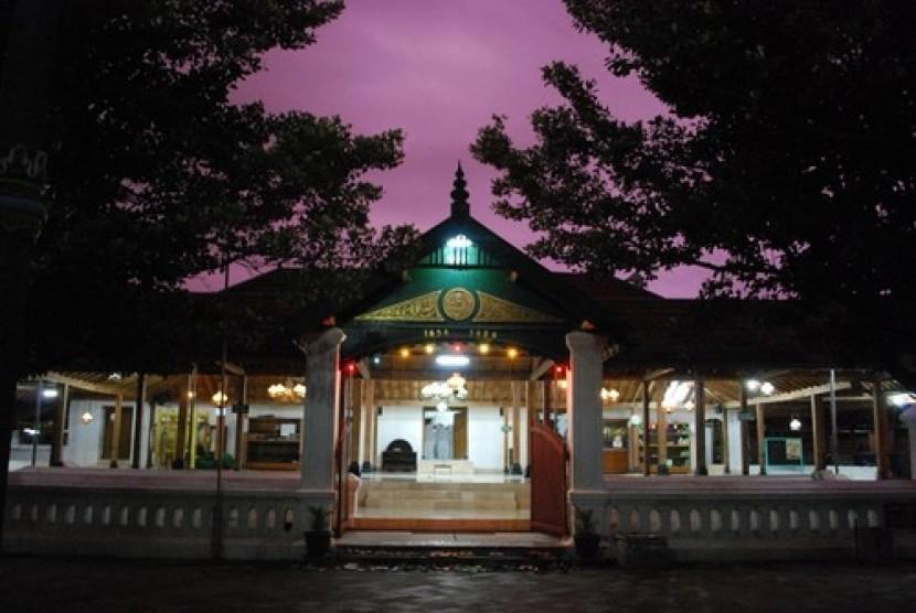 Lima Masjid Warisan Budaya Yogyakarta Dipugar Republika Online Kotagede Kab