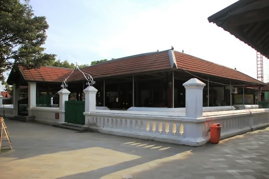 Masjid Mataram Kotagede Simbol Kerukunan Umat Beragama Ornamen Bercorak Hindu