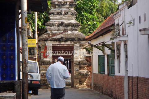 Menelusuri Jalan Masjid Mataram Kotagede Yogyakarta Teamtouring Ujung Gerbang Masuk